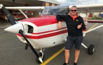 Grattis till första EK flygning – Gabriele Calvi!